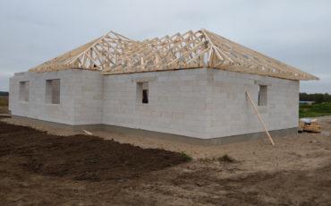 Установка деревянные фермы