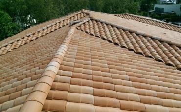 Керамическая крыша