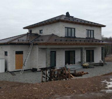 Строительство кровли крыши Evo
