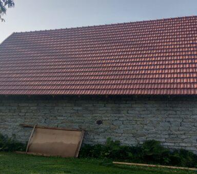 Tiilikatto rakennus Koramic