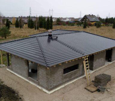(Eesti) Evo kivikatuse ehitus Solarstone päikesepaneeliga