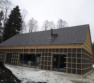 Carisma черепица строительство крыши 242m2